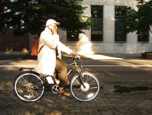 BicyclistOnFifth