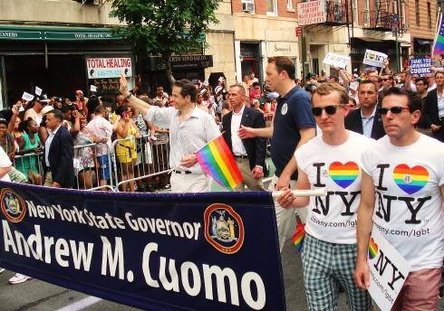 GayParade2013Cuomo
