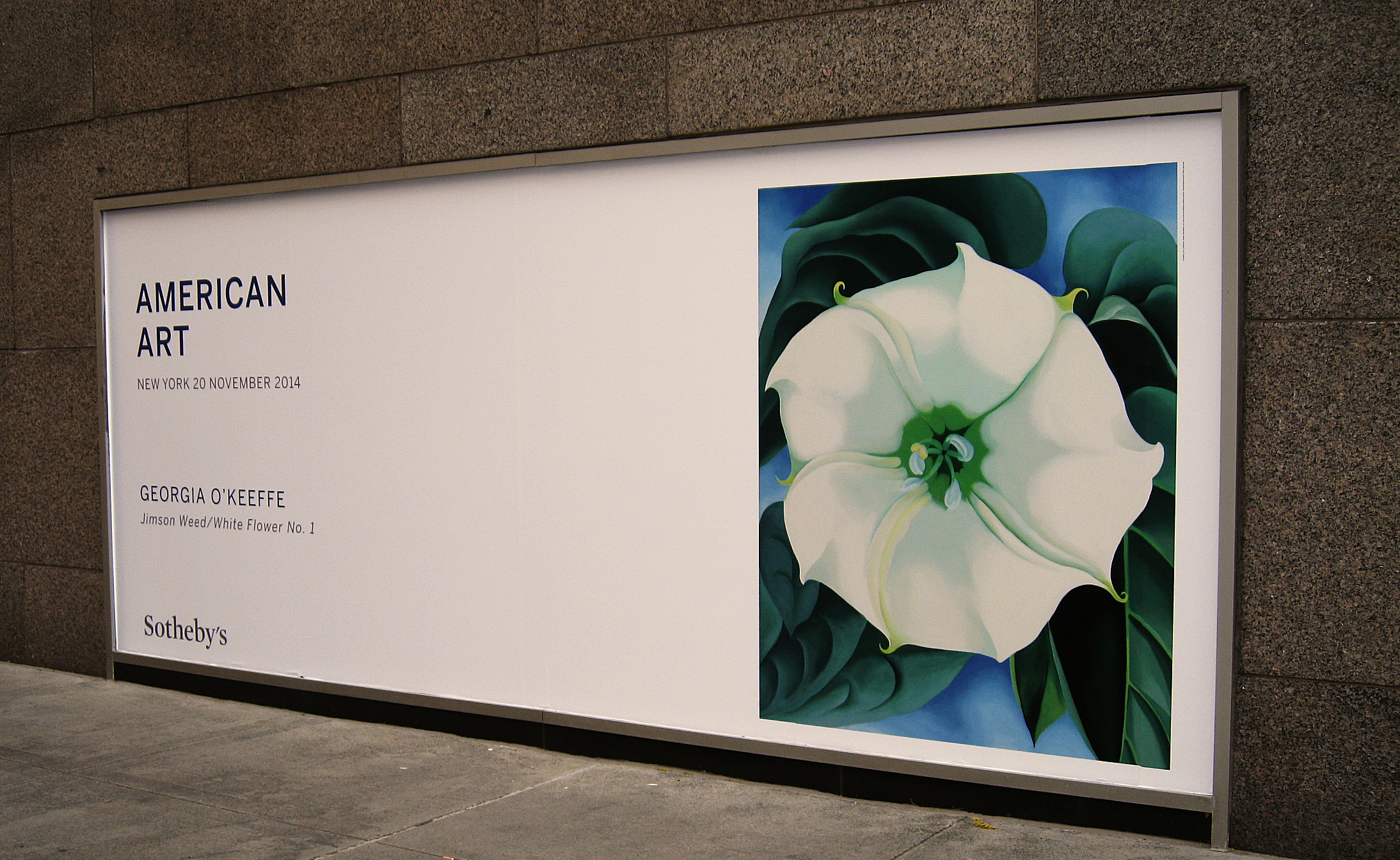 Georgia okeeffe soars at auction lotus editions georgiaokeeffe jimsonweed1 georgiaokeeffe sothebys mightylinksfo