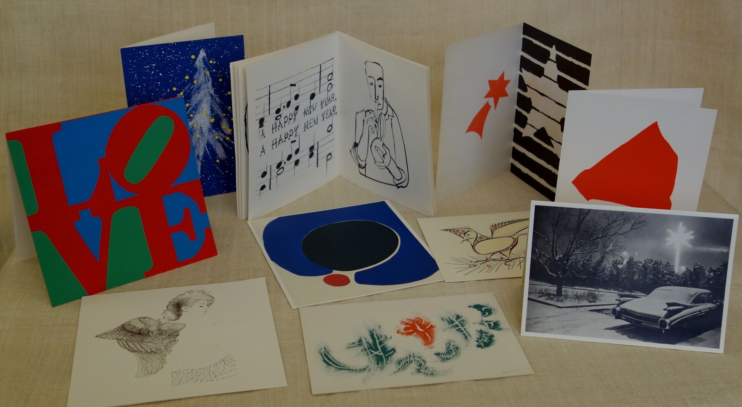 Museum of Modern Art Christmas Cards | LOTUS EDITIONS